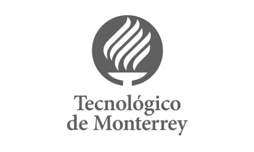 Logo: Tec de Monterrey (ITESM) a private univesity in Mexico that includes 31 campuses in 25 cities in Mexico.